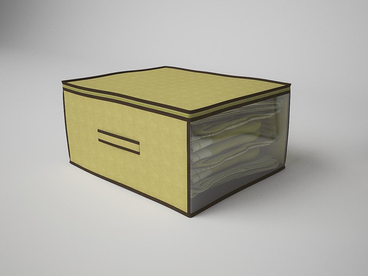 {} CoFreT Кофр для хранения Классик Цвет: Бежевый (30х50х60 см) кофр стеллажный для хранения вещей valiant vintage 2 секции 50 x 30 x 20 см