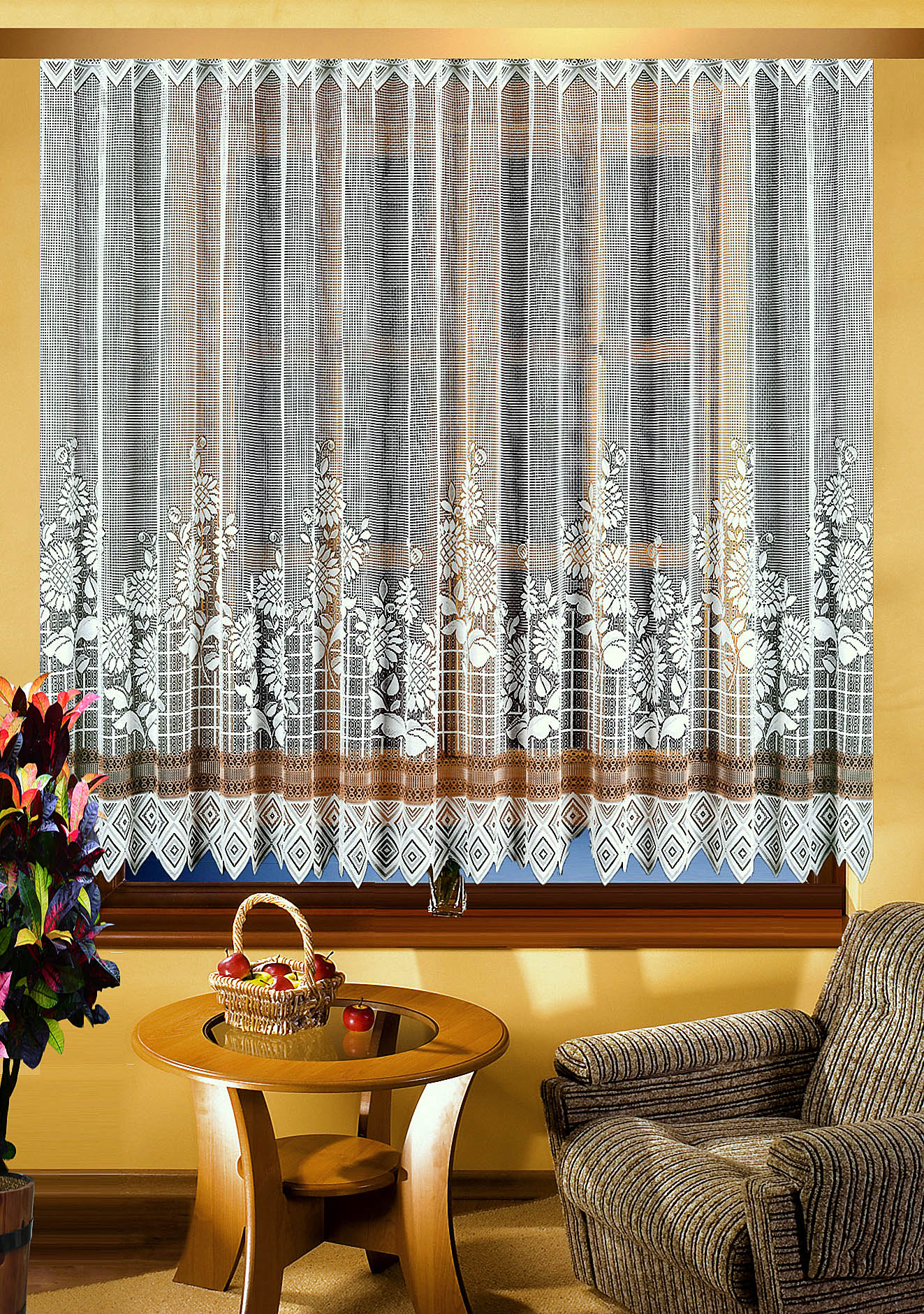 Шторы Elegante Классические шторы Gardinochki Цвет: Белый, Крем шторы elegante классические шторы туман цвет персиковый