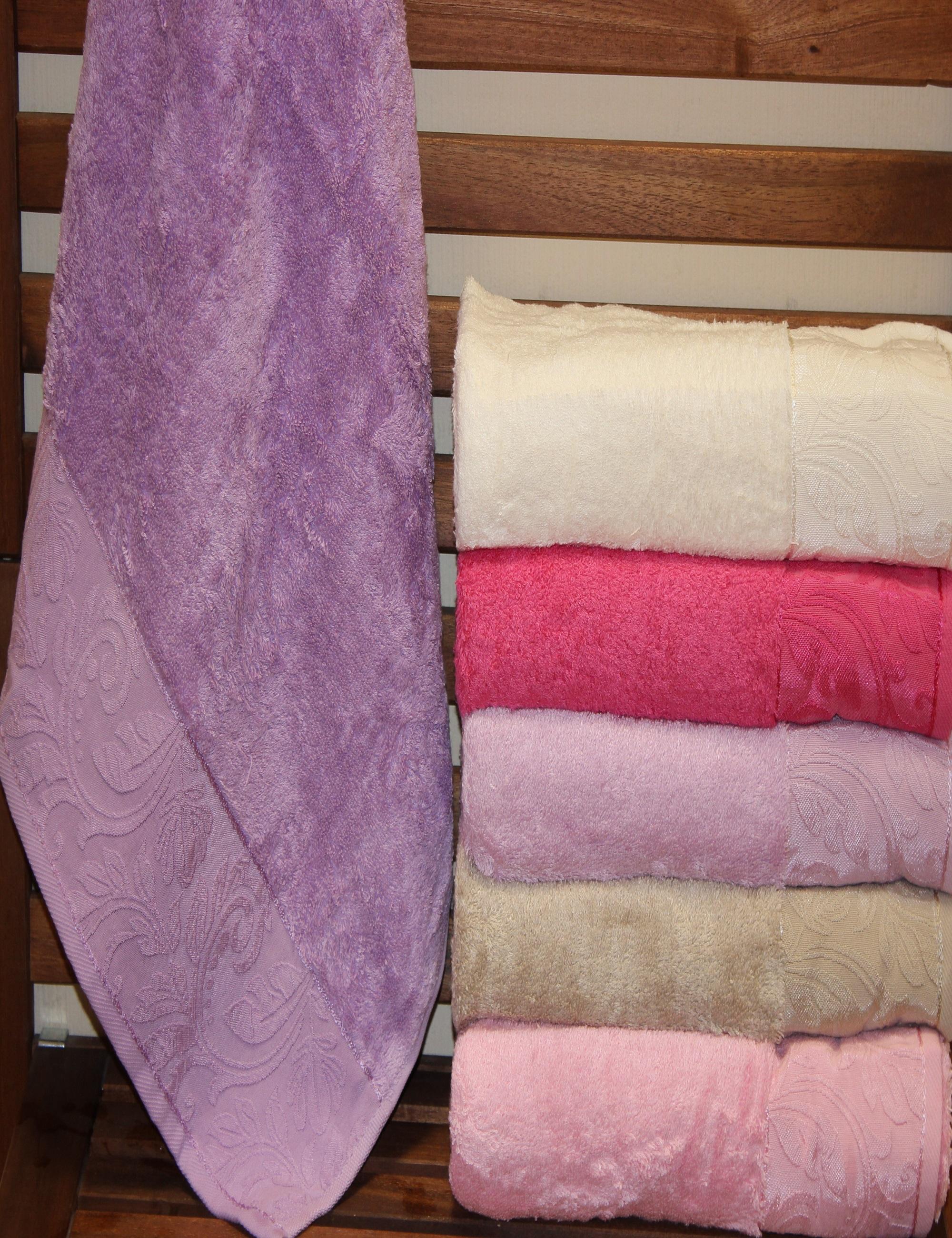 Полотенца Sikel Полотенце Laydi Pink (70х140 см - 6 шт) sikel набор из 2 полотенец nazande цвет коричневый