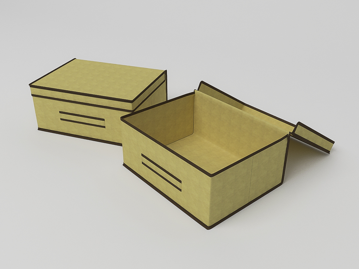 {} CoFreT Кофр для хранения Классик Цвет: Бежевый (30х35х45 см)