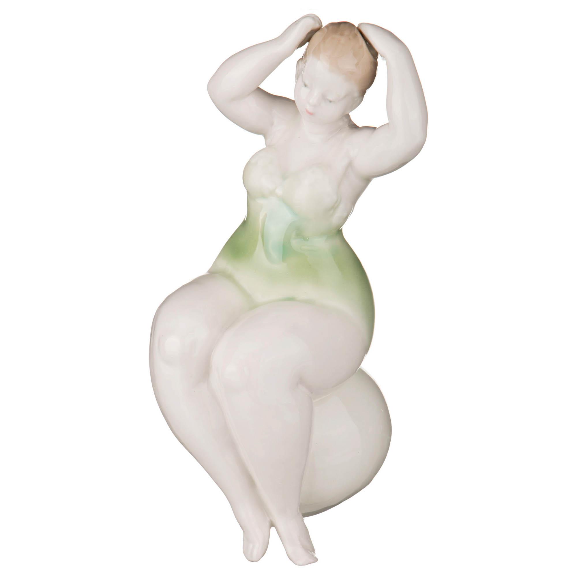 {} Lefard Статуэтка Дама (10х10х19 см) статуэтка петушок 10 см