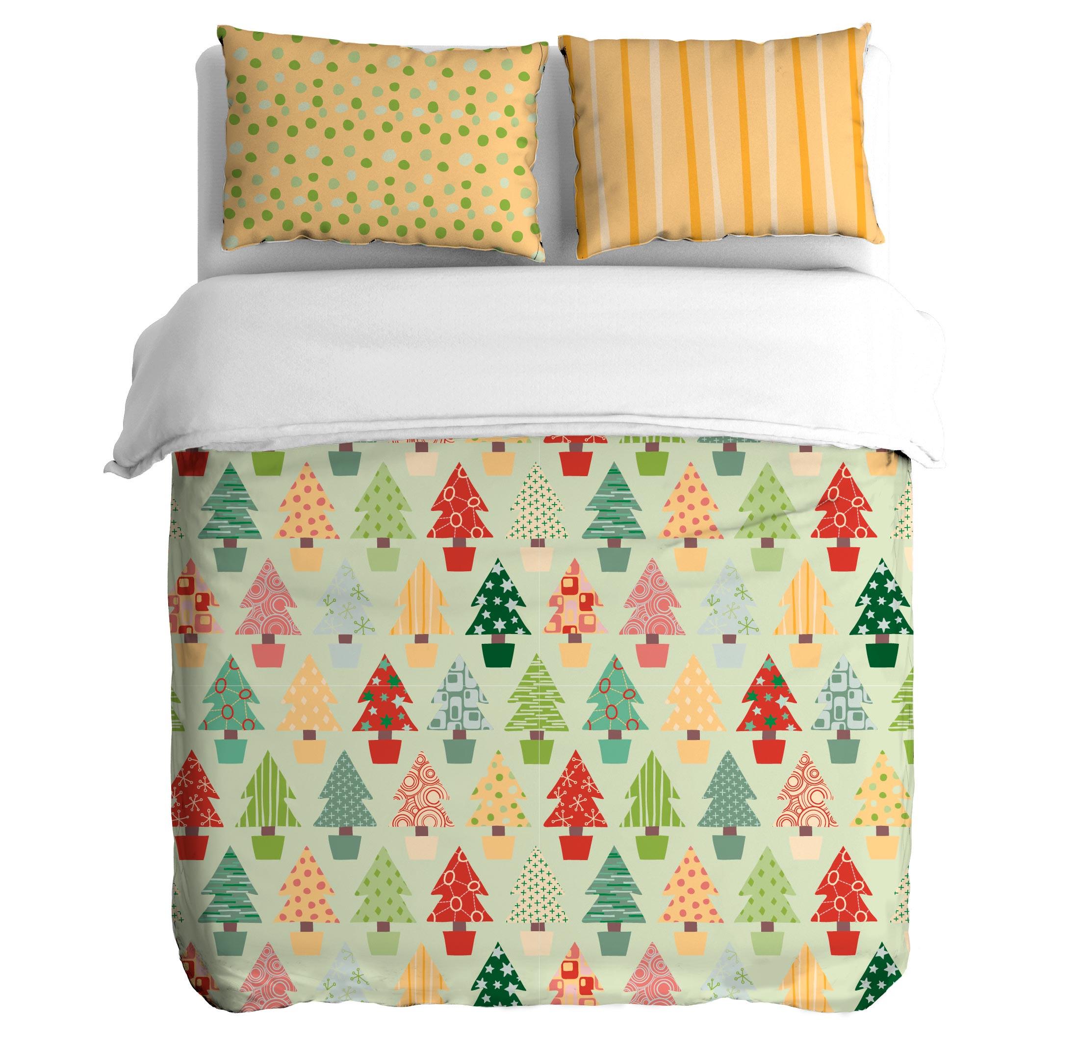 Постельное белье Peach Постельное белье Winter forest (семейное) постельное белье мартекс постельное белье микрофибра 3d визит
