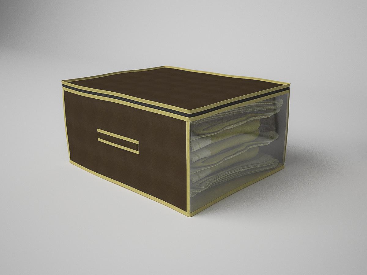 {} CoFreT Кофр для хранения Классик Цвет: Коричневый (30х50х60 см) кофр стеллажный для хранения вещей valiant vintage 2 секции 50 x 30 x 20 см