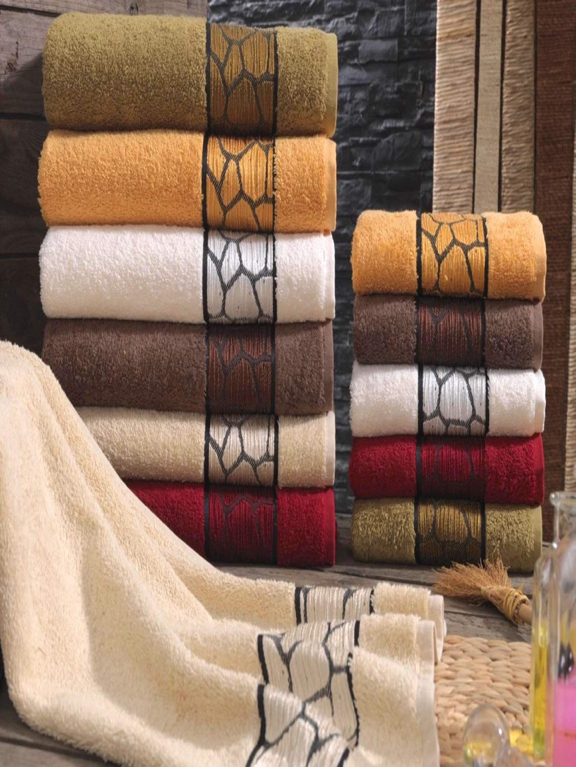 Полотенца Sikel Полотенце Buruska (50х90 см - 6 шт) sikel набор из 2 полотенец nazande цвет коричневый