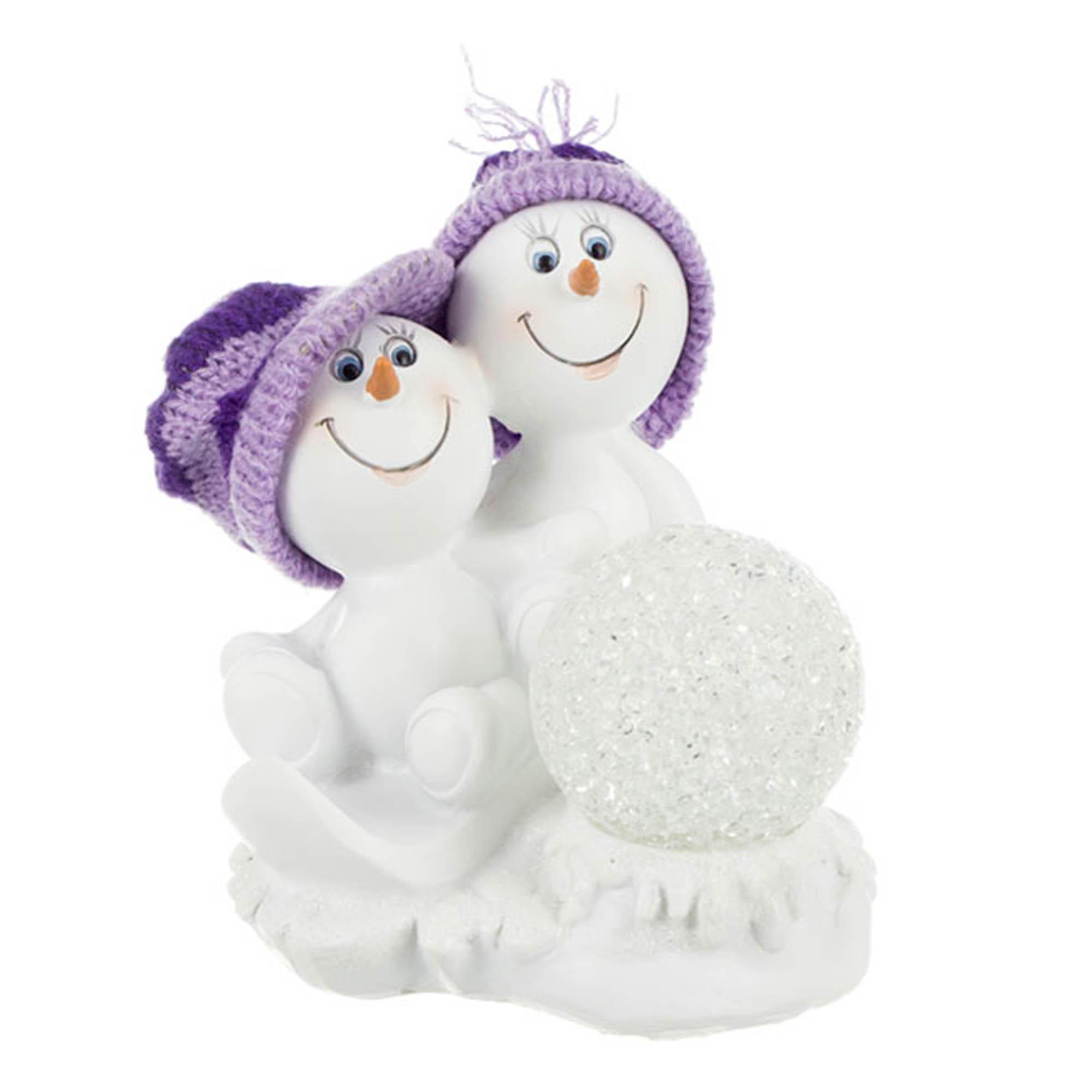 {} Lefard Интерьерная игрушка Снеговички (10х11х12 см) lefard интерьерная игрушка jan 5х6х13 см