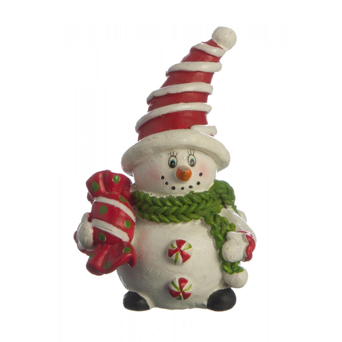 {} Lefard Интерьерная игрушка Снеговик (4х5х7 см) сноубол снеговик с фонарем 7 5 7 5 8 4см 38357