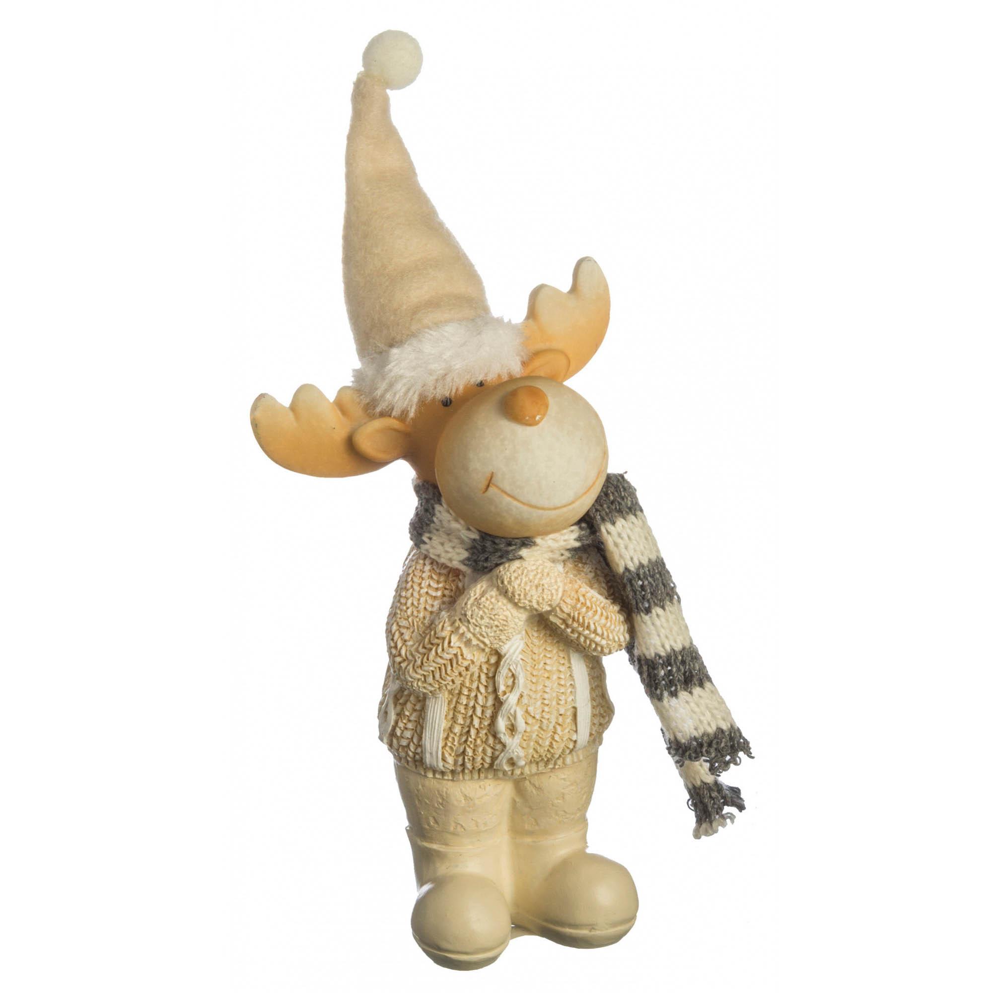 {} Lefard Интерьерная игрушка Лось (6х8х13 см) lefard интерьерная игрушка jan 5х6х13 см