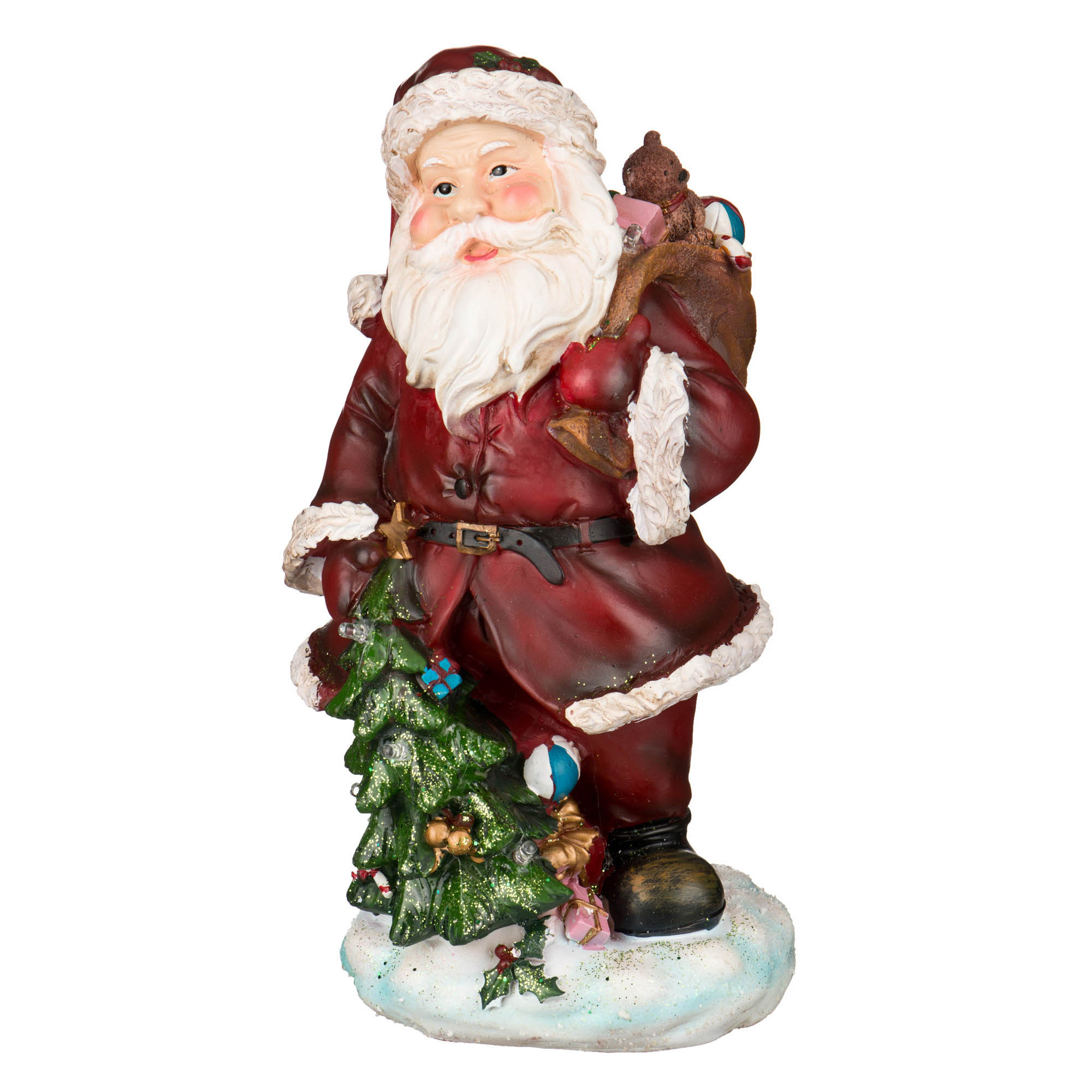 {} Lefard Интерьерная игрушка Дед Мороз (14х14х30 см) lefard интерьерная игрушка jan 5х6х13 см