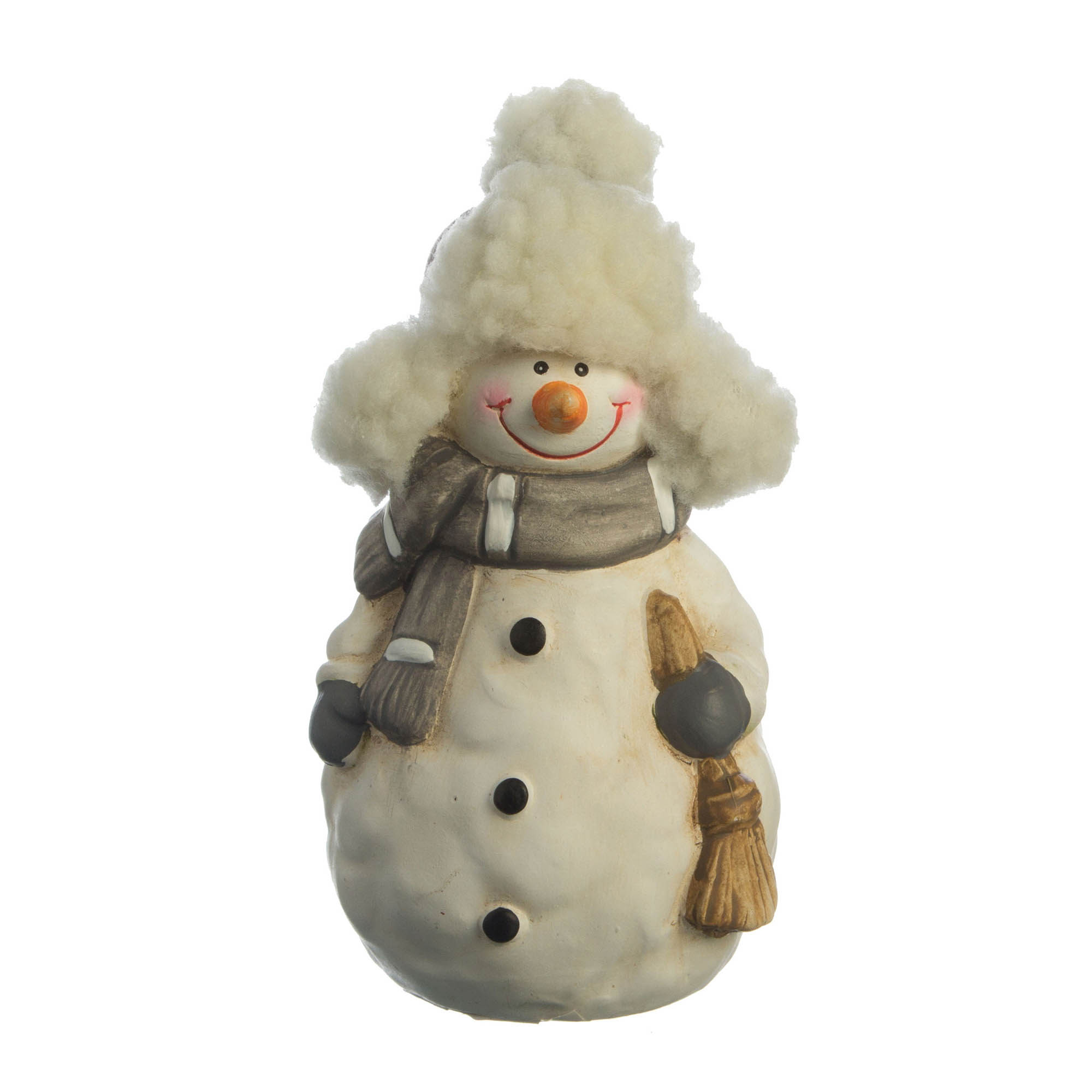 {} Lefard Интерьерная игрушка Снеговик (7х7х12 см) lefard интерьерная игрушка jan 5х6х13 см