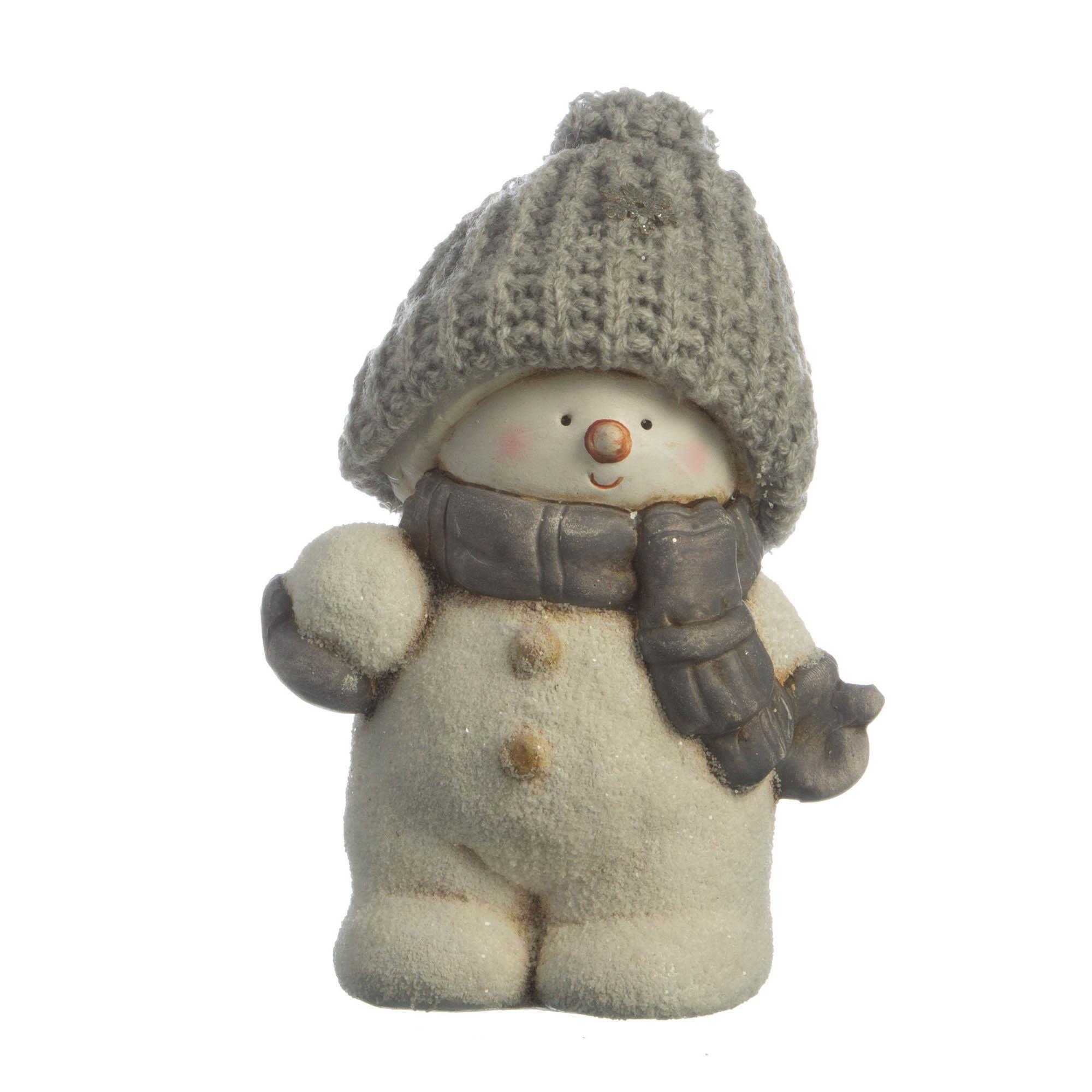 {} Lefard Интерьерная игрушка Снеговик (8х11х15 см) lefard интерьерная игрушка jan 5х6х13 см