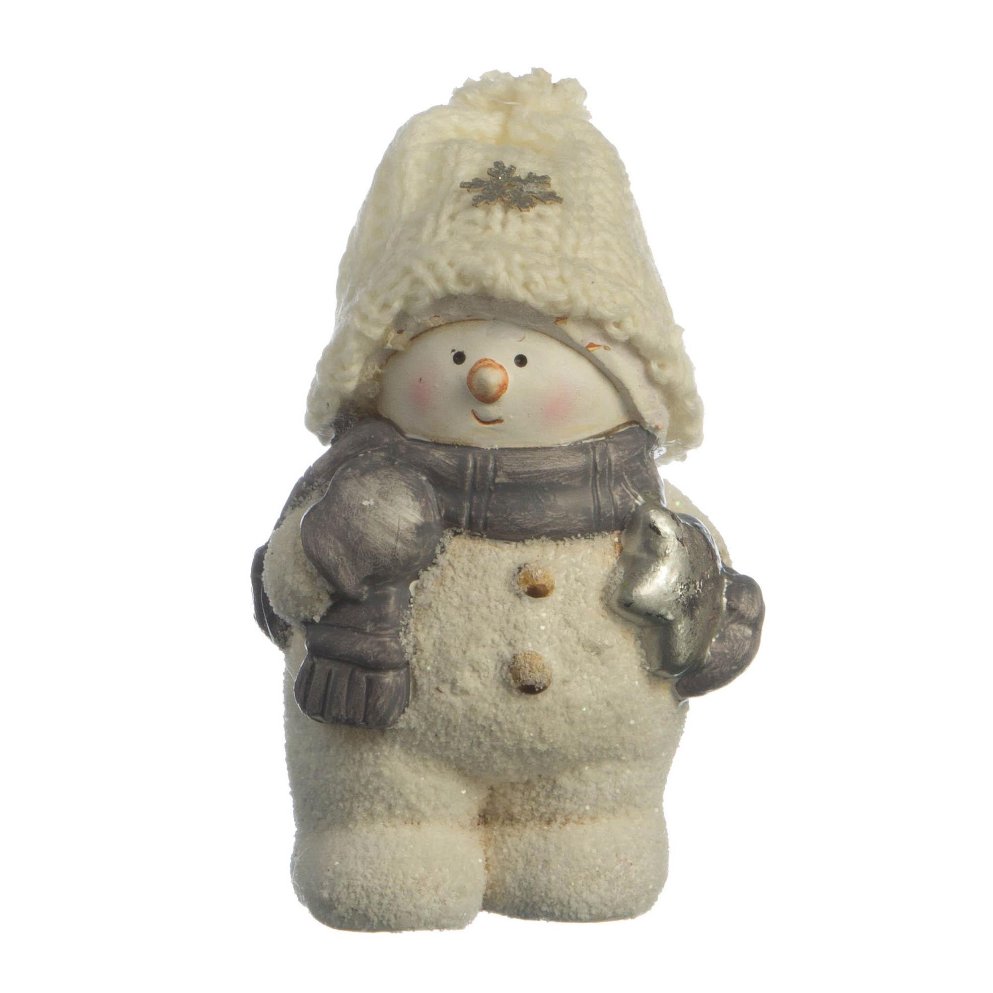 {} Lefard Интерьерная игрушка Снеговик (6х8х12 см) lefard интерьерная игрушка jan 5х6х13 см