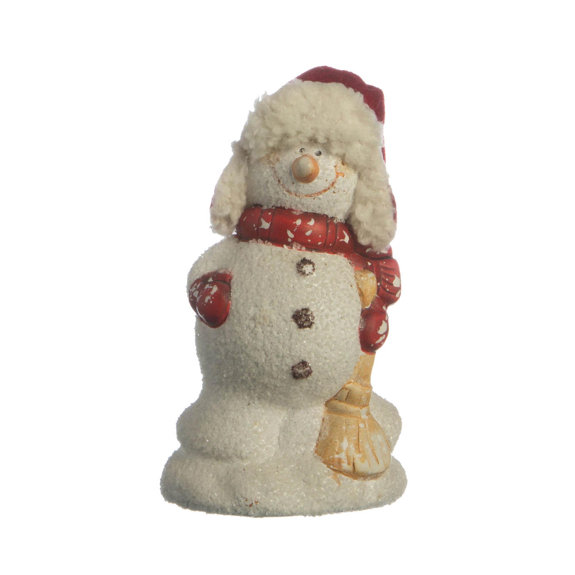 {} Lefard Интерьерная игрушка Снеговик (5х7х12 см) сноубол снеговик с фонарем 7 5 7 5 8 4см 38357