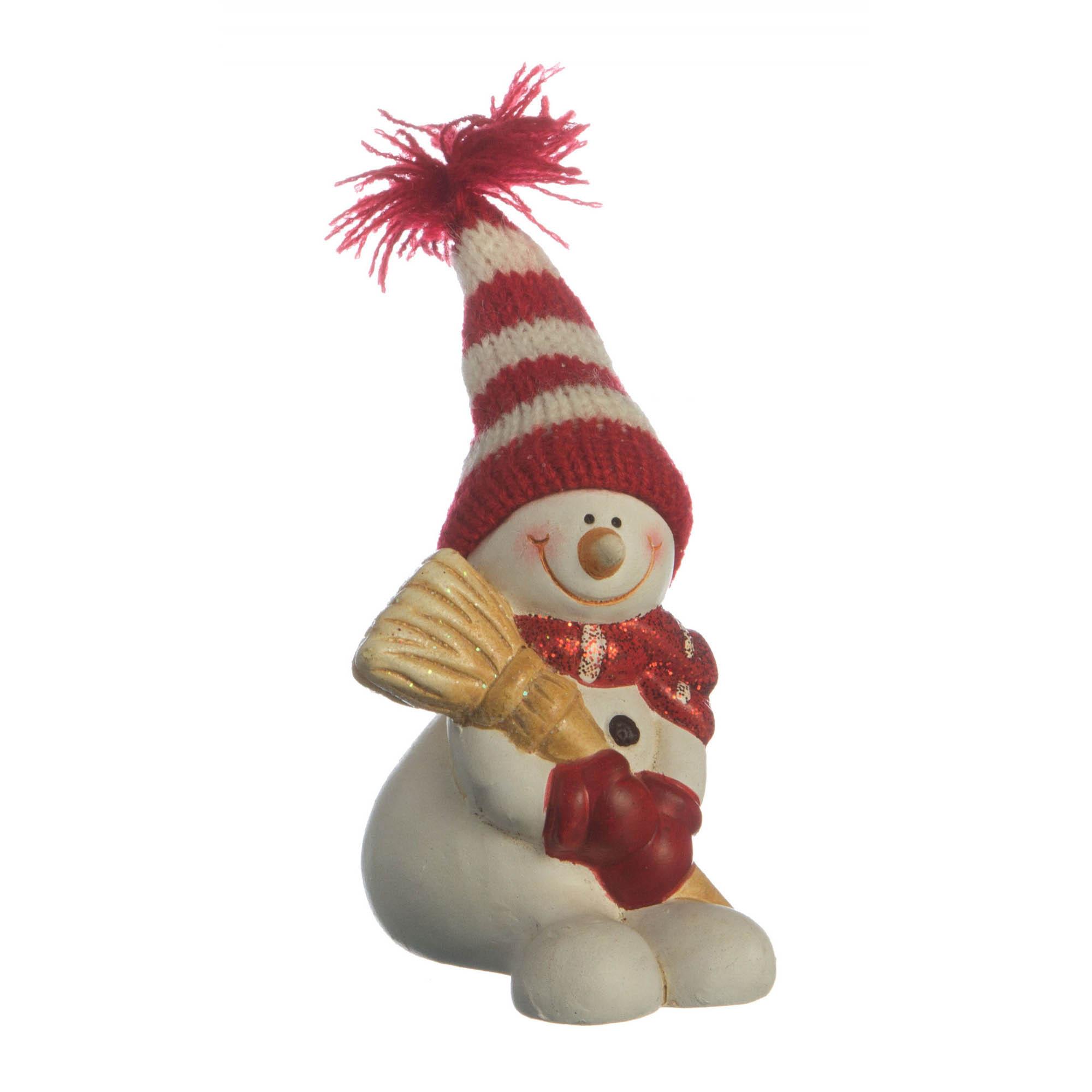 {} Lefard Интерьерная игрушка Снеговик (6х7х9 см) lefard интерьерная игрушка jan 5х6х13 см