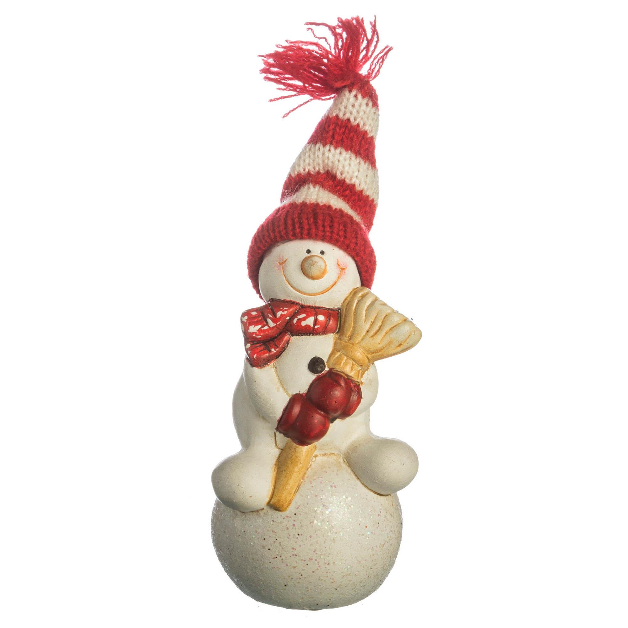 {} Lefard Интерьерная игрушка Снеговик (5х6х11 см) миниатюра снеговик цвет серебристый 6 5 см