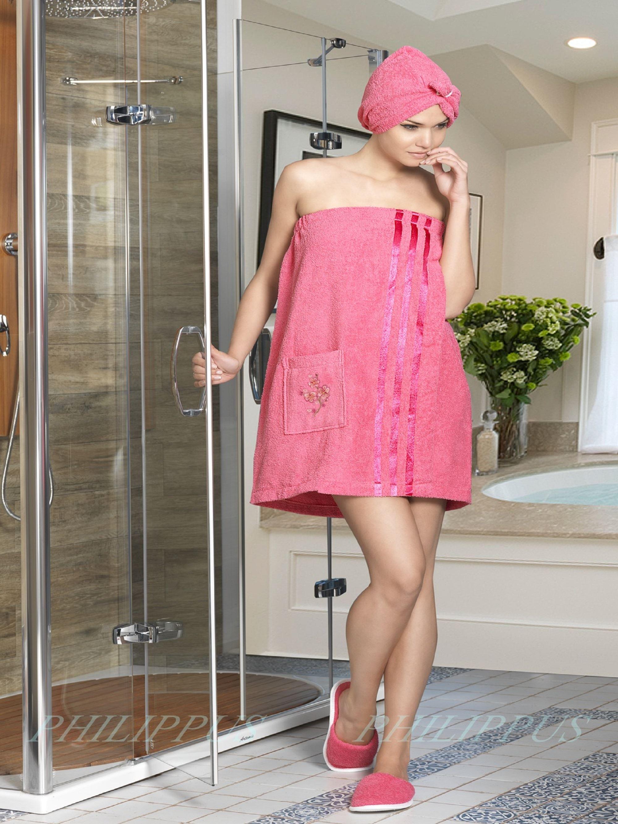 Сауны, бани и оборудование Philippus Набор для сауны Mariam Цвет: Брусничный сауны бани и оборудование valentini набор для сауны fashion цвет песочный