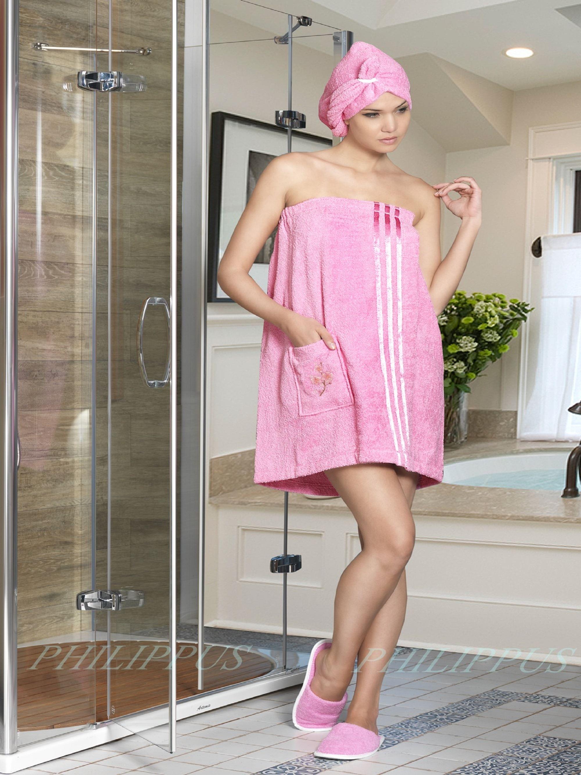 Сауны, бани и оборудование Philippus Набор для сауны Mariam Цвет: Розовый сауны бани и оборудование valentini набор для сауны fashion цвет песочный