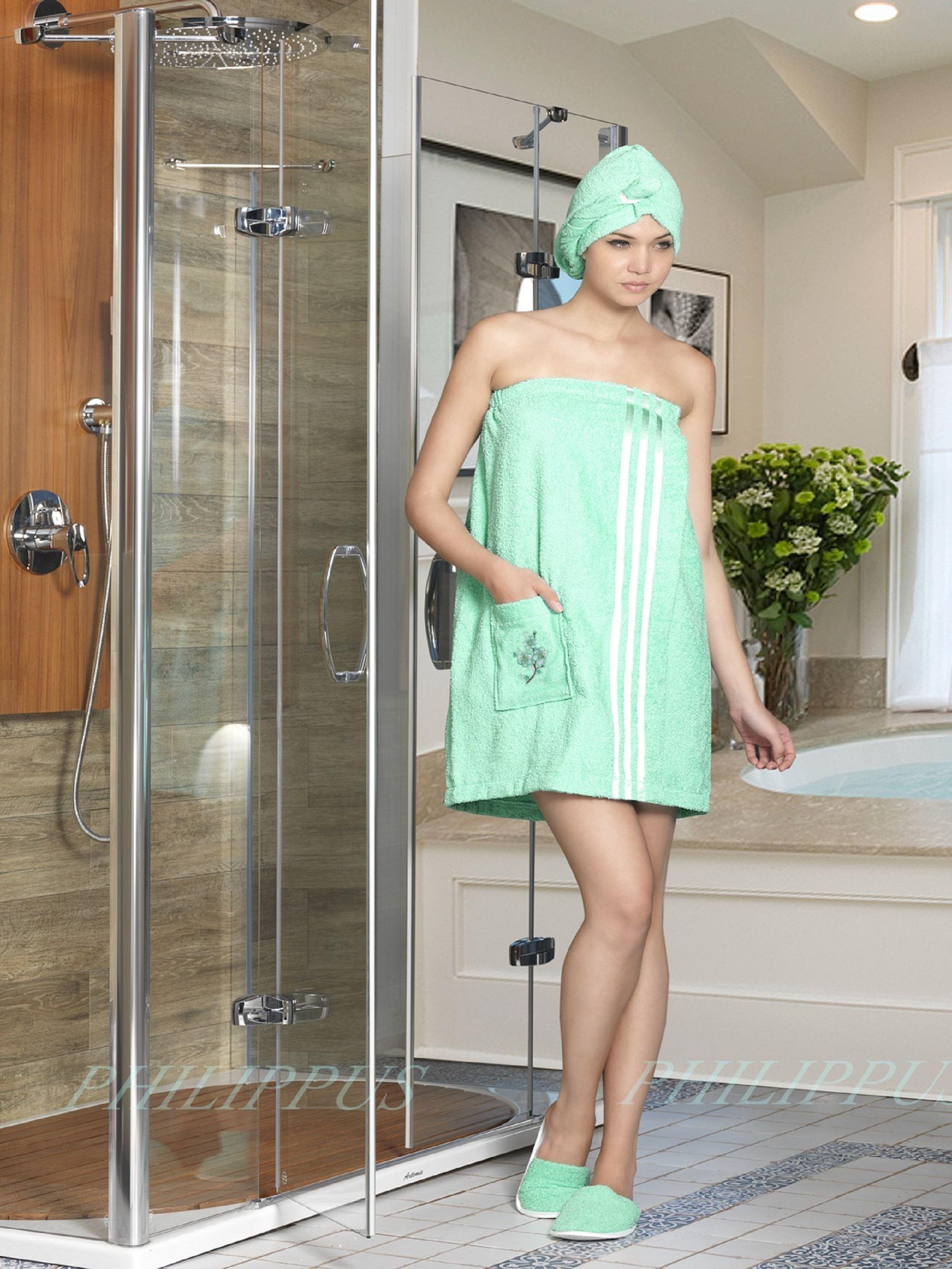 Сауны, бани и оборудование Philippus Набор для сауны Mariam Цвет: Светло-Зеленый сауны бани и оборудование valentini набор для сауны fashion цвет песочный