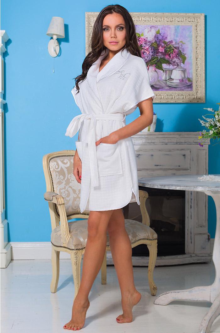 Сауны, бани и оборудование Mia-Mia Халат Loren (xS-S) купить шелковый халат мужской спб