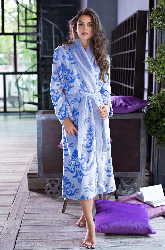 Сауны, бани и оборудование Mia-Mia Халат Tonia Цвет: Голубой (L) сауны бани и оборудование valentini набор для сауны fantasy