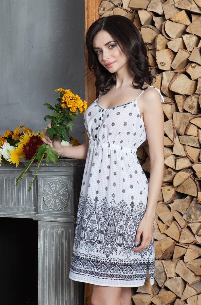 Туники, сарафаны Mia-Mia Платье Leona Цвет: Белый (M) туники сарафаны mia mia платье leona цвет синий l page 7