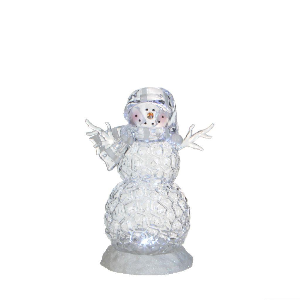 {}  Светильник Снеговик (13х17х25 см) статуэтка снеговик 13 см