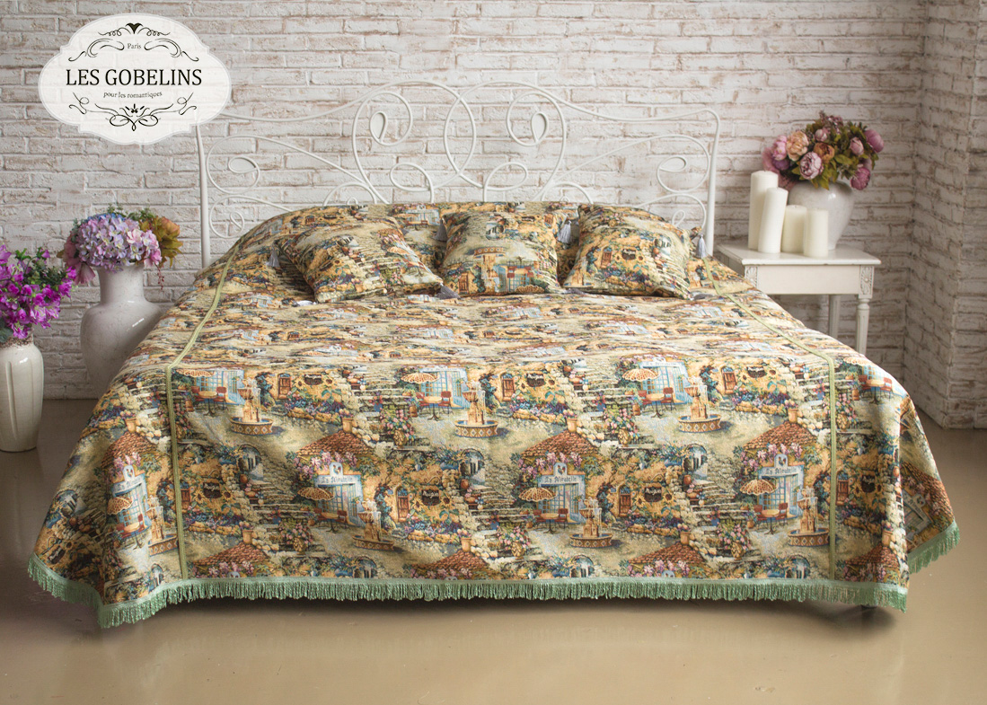 Покрывало Les Gobelins Покрывало на кровать Jardin D'Eden (140х220 см)