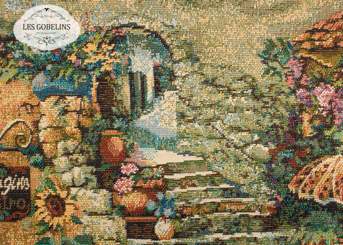 Покрывало Les Gobelins Накидка на диван Jardin D'Eden (150х220 см) плед 150х220 jardin плед 150х220