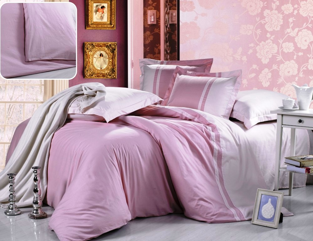 Постельное белье Valtery Постельное белье Pink (1,5 спал.)