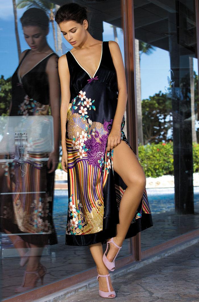 Ночные сорочки Mia-Mia Ночная сорочка Kioto (xL) ночные сорочки мамин дом ночная сорочка harmony