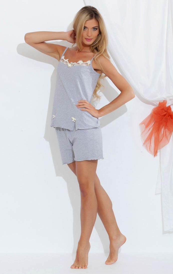 Пижамы EvaTeks Пижама Kristi (L) пижама жен mia cara майка шорты botanical aw15 ubl lst 264 р 42 44 1119503