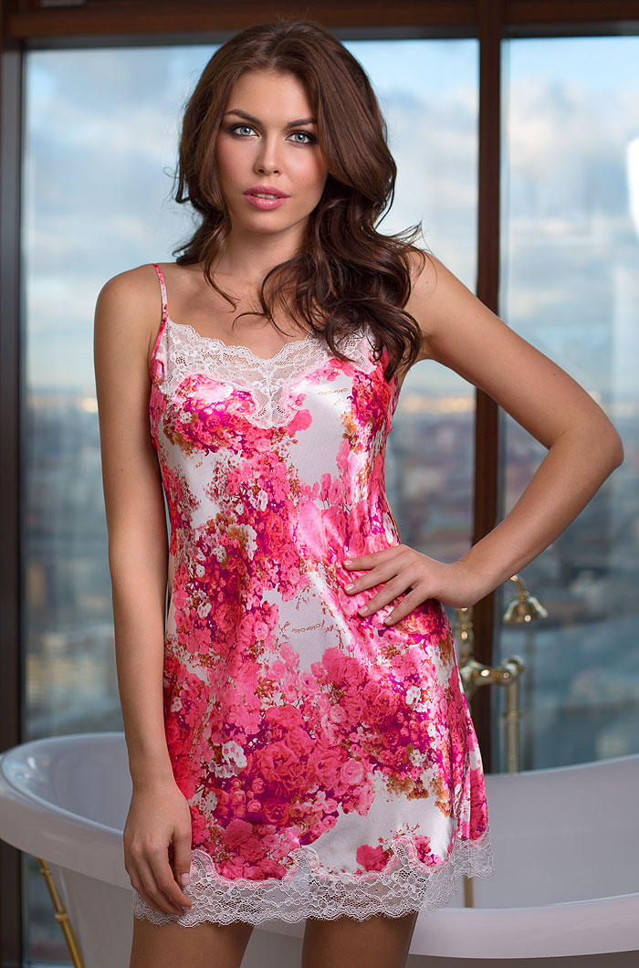 Ночные сорочки Mia-Mia Ночная сорочка Rosalia (xL) ночные сорочки mia mia ночная сорочка rosalia m