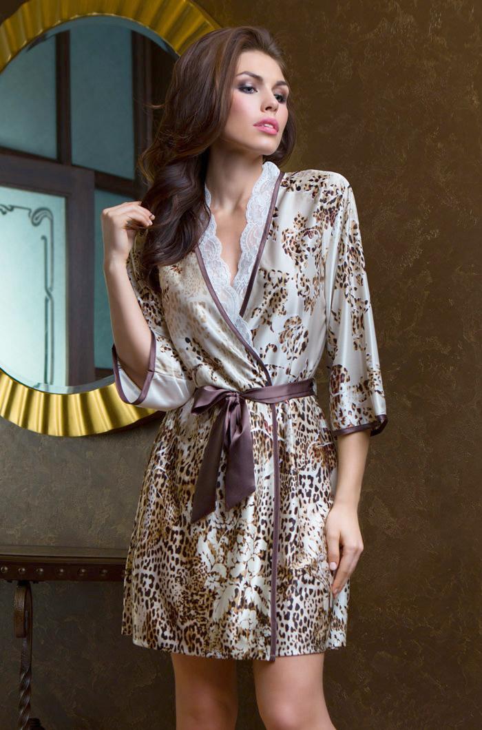 Домашние халаты Mia-Mia Домашний халат Cleopatra (M-L) домашние халаты mia mia домашний халат fiona l xl