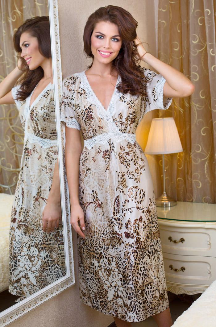Ночные сорочки Mia-Mia Ночная сорочка Cleopatra (xL) ночные сорочки hello moda ночная сорочка