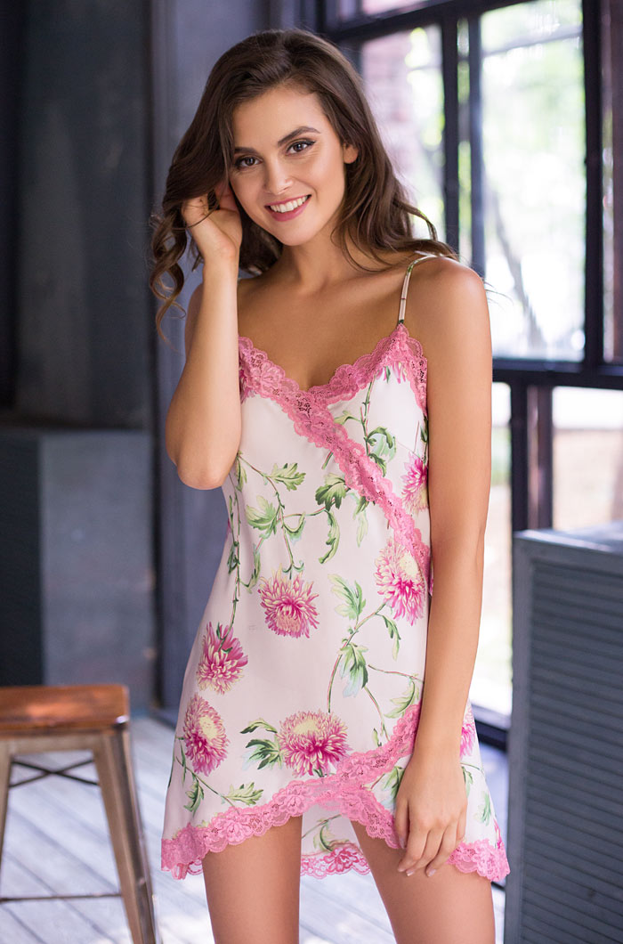 Ночные сорочки Mia-Mia Ночная сорочка Astrelia (M) ночные сорочки mia mia ночная сорочка ladi in white m
