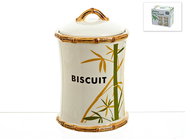 {} ENS GROUP Банка для сыпучих Bamboo (13х21 см) емкости неполимерные ens group банка для сыпучих продуктов ens group мармелад 675 мл
