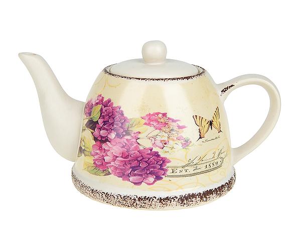 {} ENS GROUP Заварочный чайник Целебная Гортензия (14х16х24 см) чайник заварочный ens group тоскана 900 мл