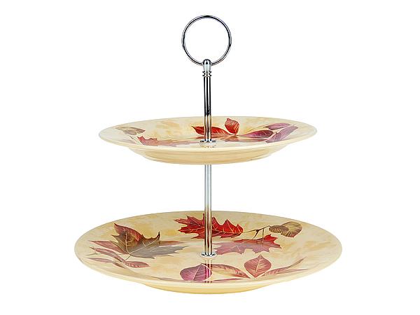 {} ENS GROUP Тарелка-этажерка Кленовый Сироп (24х25 см) тарелка десертная ens group танго магнолия диаметр 23 см