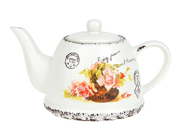 {} ENS GROUP Заварочный чайник Персиковая Роза (14х16х24 см) чайник заварочный ens group тоскана 900 мл
