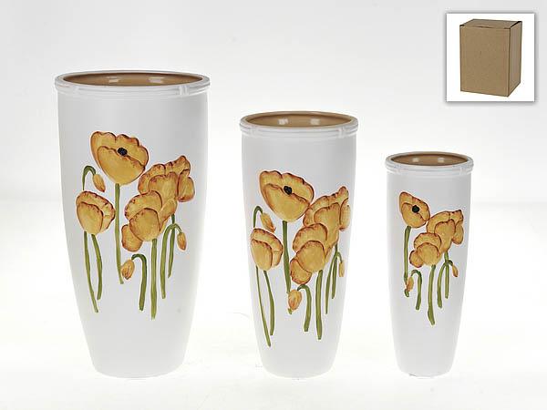 {} Gloria Garden Ваза Желтые Маки (Набор) gloria garden ваза нежная орхидея набор