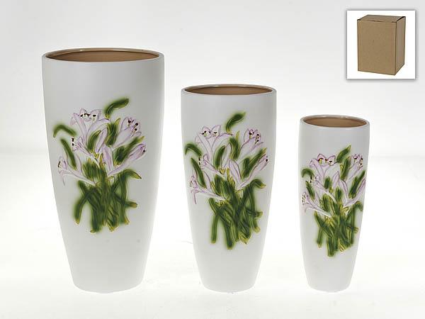 {} Gloria Garden Ваза Букет Лилий (Набор) gloria garden ваза нежная орхидея набор