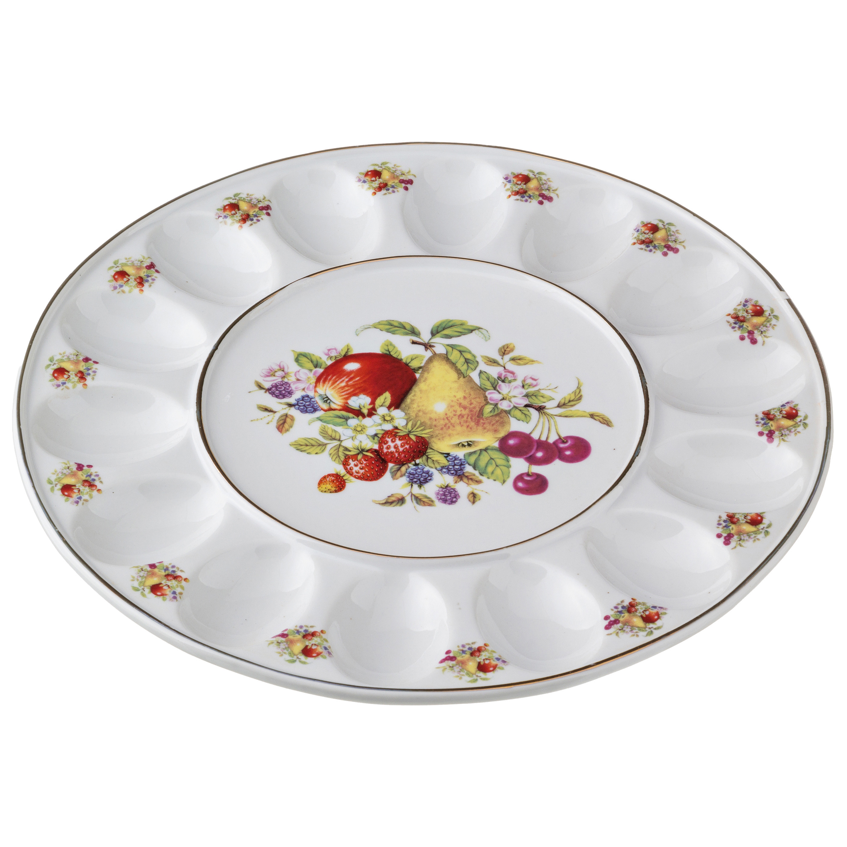 {} Arti-M Тарелка для яиц Фруткы (2х30 см)