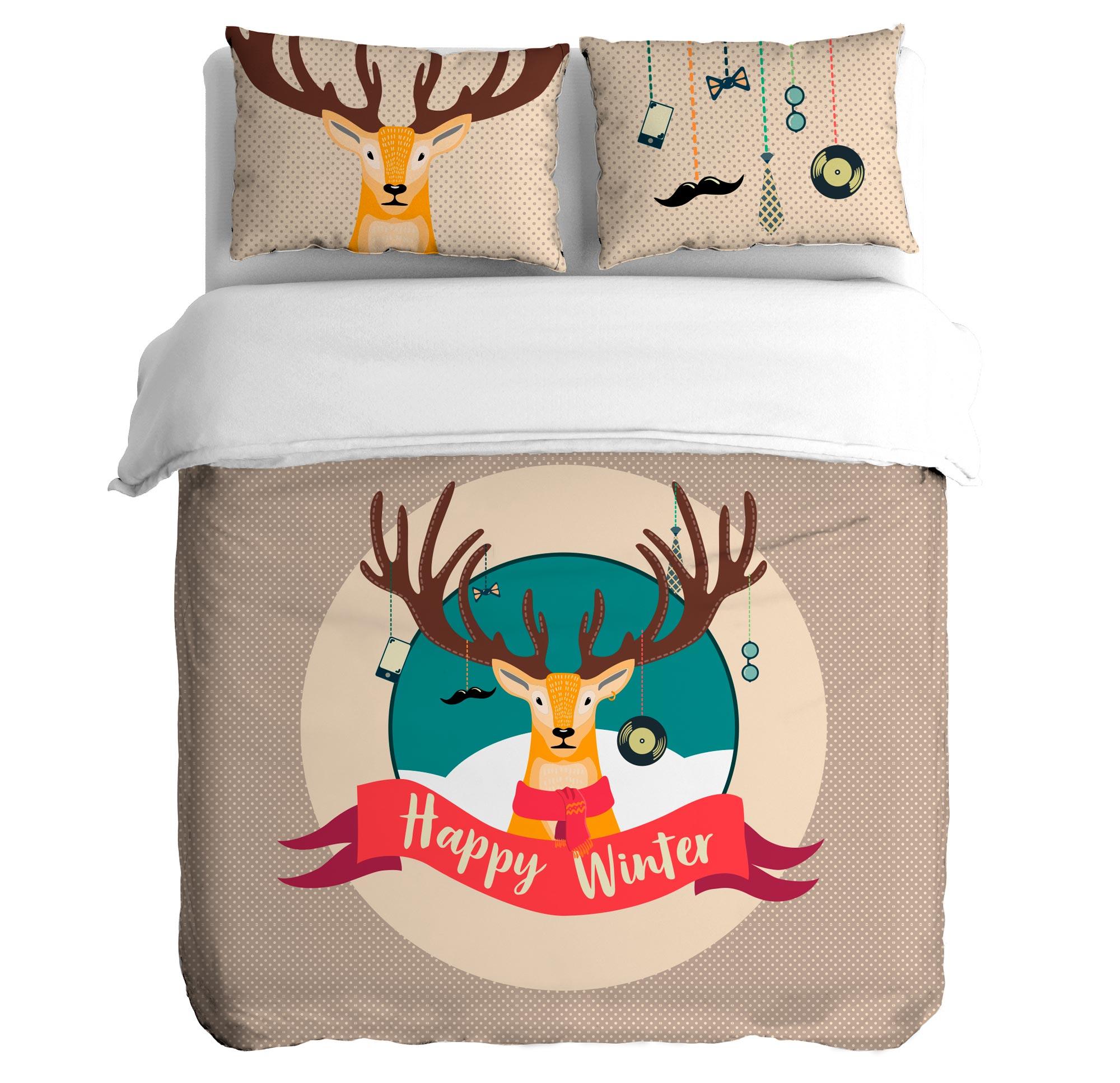 Постельное белье Peach Постельное белье Hipster winter (1,5 спал.) постельное белье мартекс постельное белье микрофибра 3d визит
