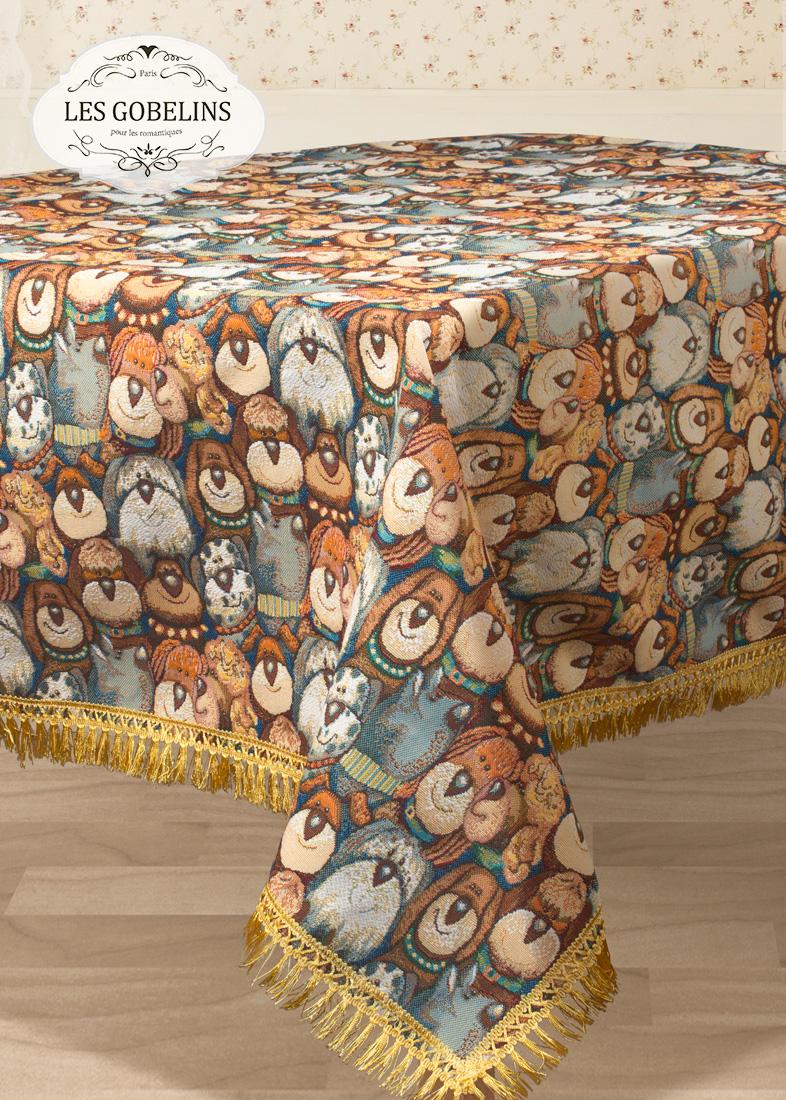 Скатерти и салфетки Les Gobelins Скатерть Chiens (150х190 см) скатерти duni скатерть 138х220 d s