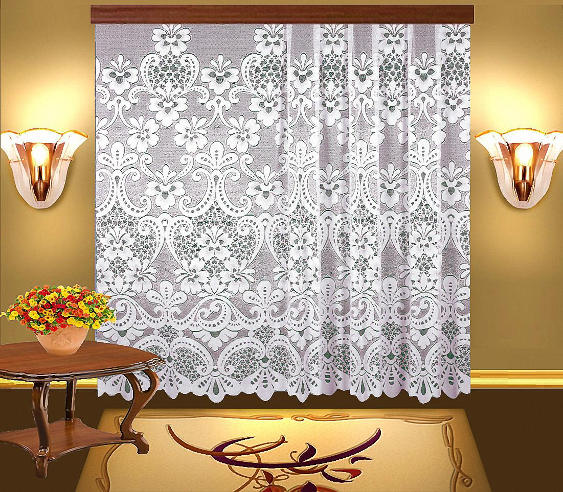 Шторы Elegante Классические шторы Deni Цвет: Белый шторы tac классические шторы winx цвет персиковый 200x265 см