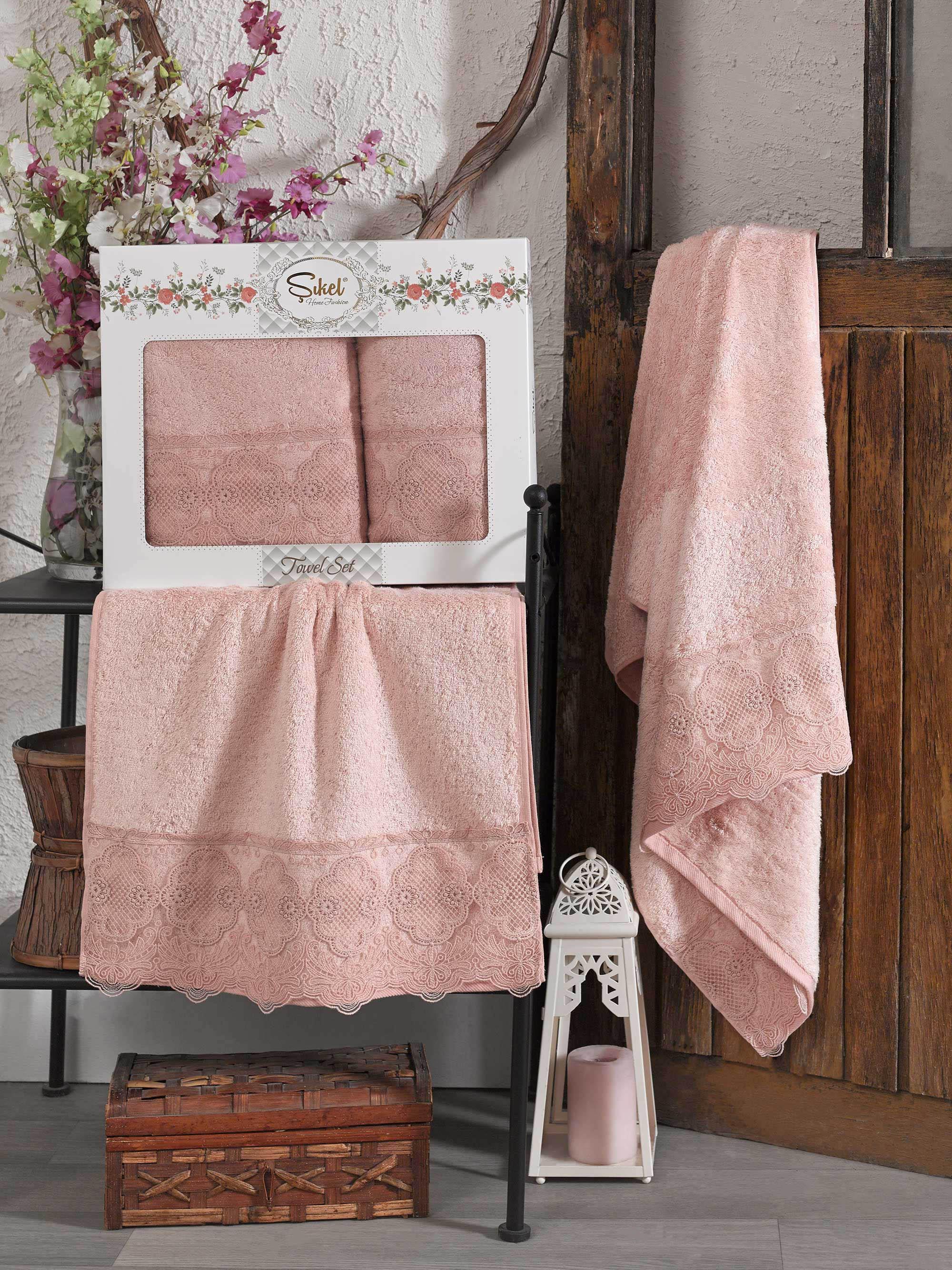 Полотенца Sikel Полотенце Solemare Цвет: Пудра (50х90 см,70х140 см) полотенца sikel полотенце kanevice цвет пудра 50х90 см 70х140 см