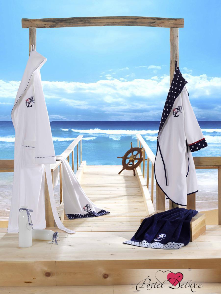 Сауны, бани и оборудование Ecocotton Халат Sea Star Цвет: Белый (L) сауны бани и оборудование valentini набор для сауны fantasy