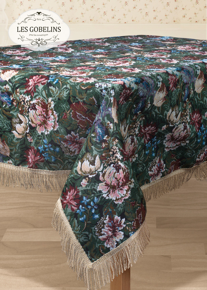 Скатерти и салфетки Les Gobelins Скатерть Jardin D'Amerique (130х180 см)