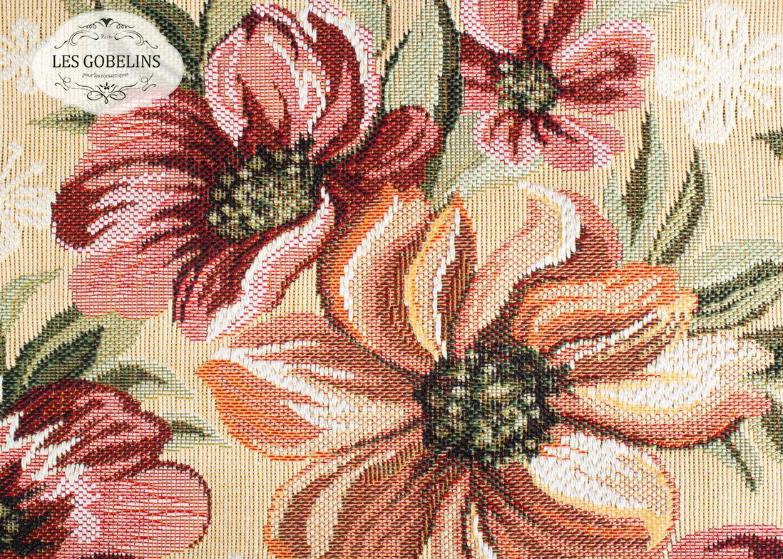 Покрывало Les Gobelins Накидка на диван Coquelicot (130х210 см)