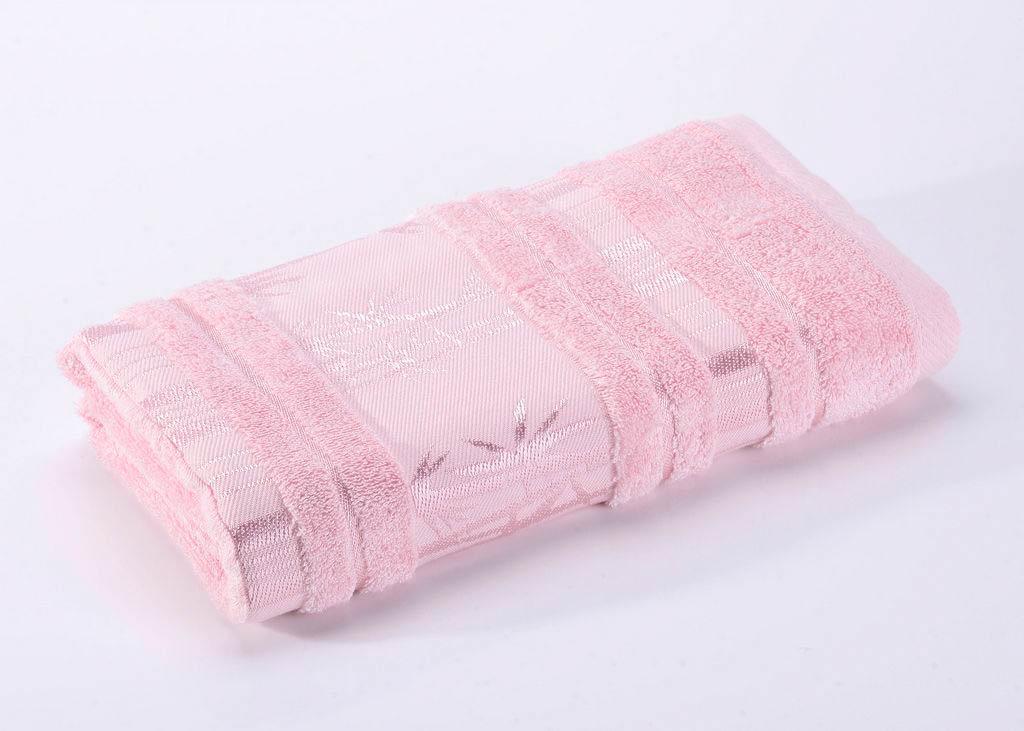 Полотенца Valtery Полотенце Bamboo CL Цвет: Светло-Розовый (70х140 см)
