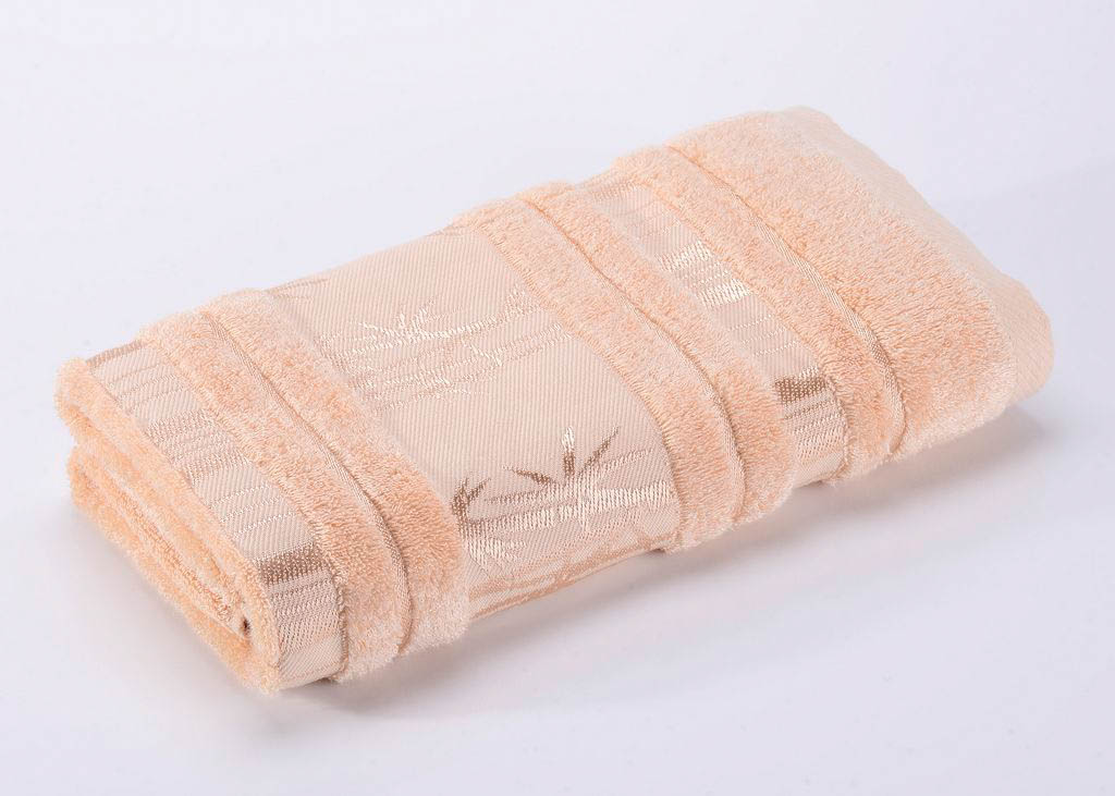 Полотенца Valtery Полотенце Bamboo CL Цвет: Светло-Бежевый (70х140 см)